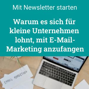Mit E-Mail-Marketing-anfangen als kleines Unternehmen, Newsletter lohnt