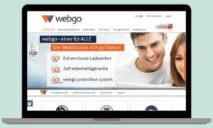 Für meine Website inklusive Blog verwende ich das Hostingpaket Profi von webgo.