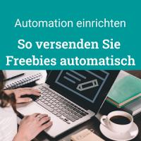 So versenden Sie Freebies automatisch, Automation einrichten